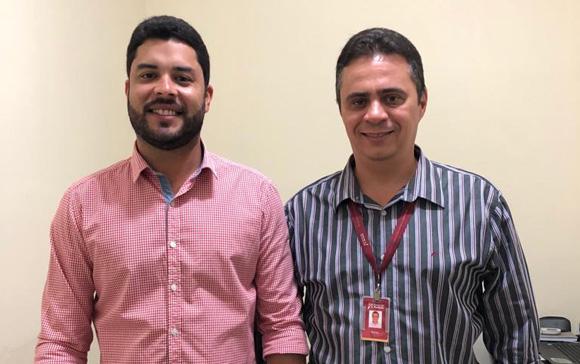 Gerente do Banco do Nordeste vem pessoalmente a Iguaracy agradecer a QUITAÇÃO TOTAL dos débitos dos agricultores do município.