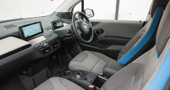 94Ah BMW i3 interior