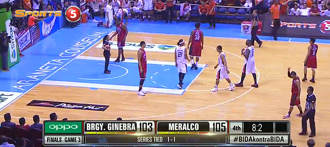 HIGHLIGHTS: Meralco vs. Ginebra (VIDEO) October 12 - Finals Game 3