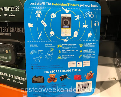 Costco 1251125 - Pebblebee Finder: great for any forgetful or absent-minded person