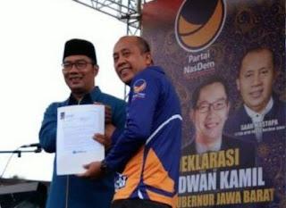 Ridwan Kamil Terancam Ahok Effect di Pilgub Jabar 2018