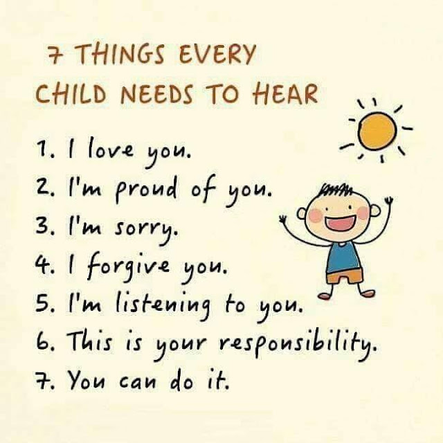POSITIVE WORDS EVERY CHILDREN NEEDS TO HEAR