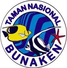 deskripsi taman nasional bunaken, logo taman nasional bunaken, keindahan taman laut bunaken