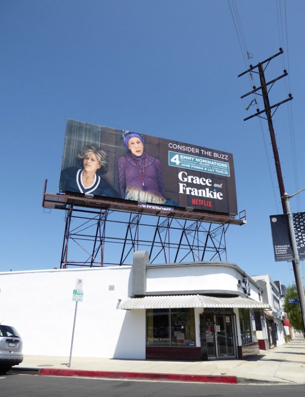 Grace Frankie season 3 Emmy noms billboard