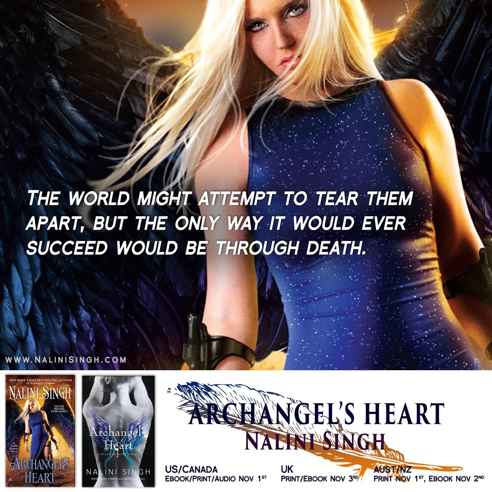 Nalini singhs weblog archangels heart spoiler thread archangels heart spoiler thread fandeluxe Epub