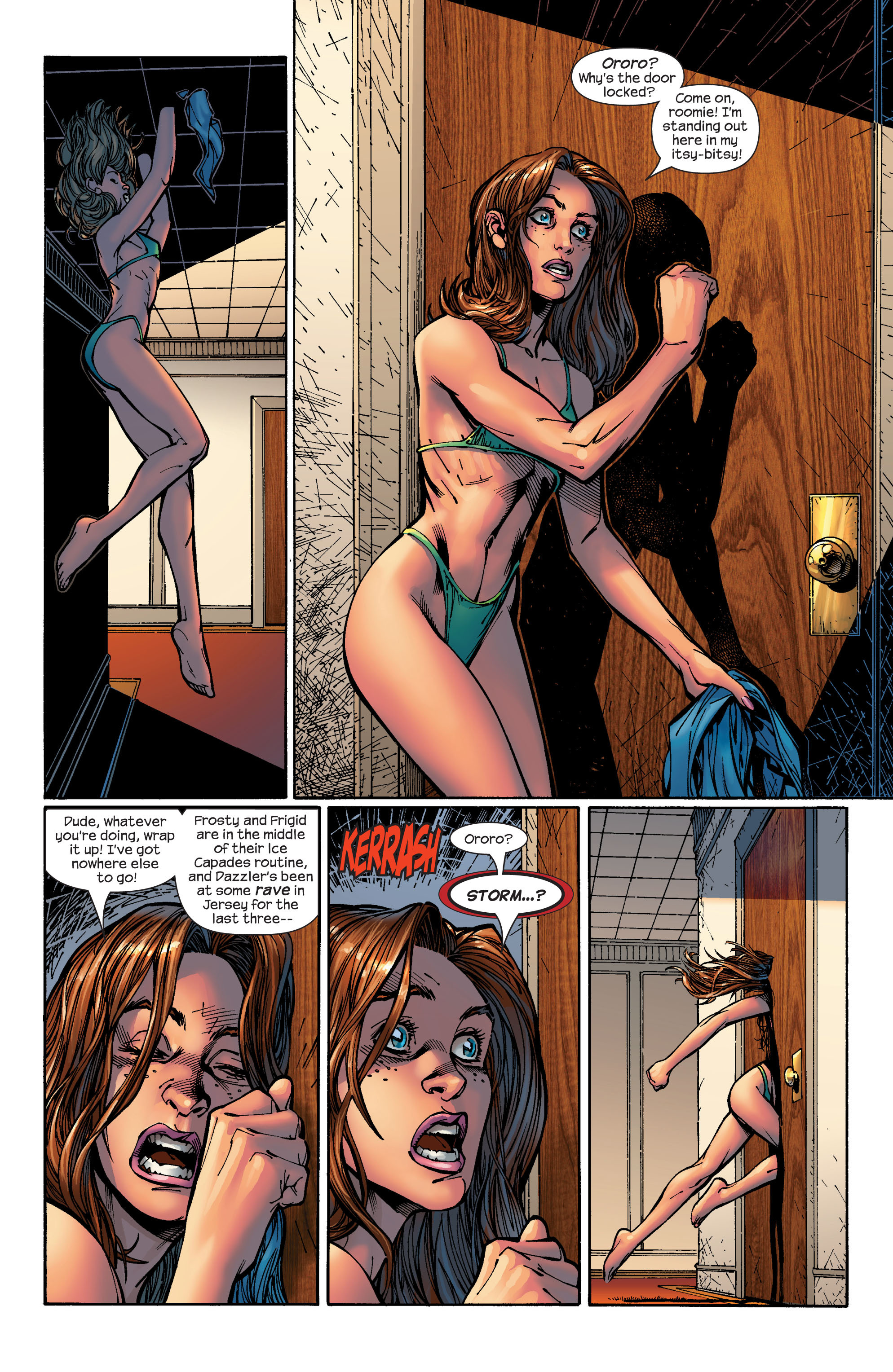 Read online Ultimate X-Men comic -  Issue #46 - 18