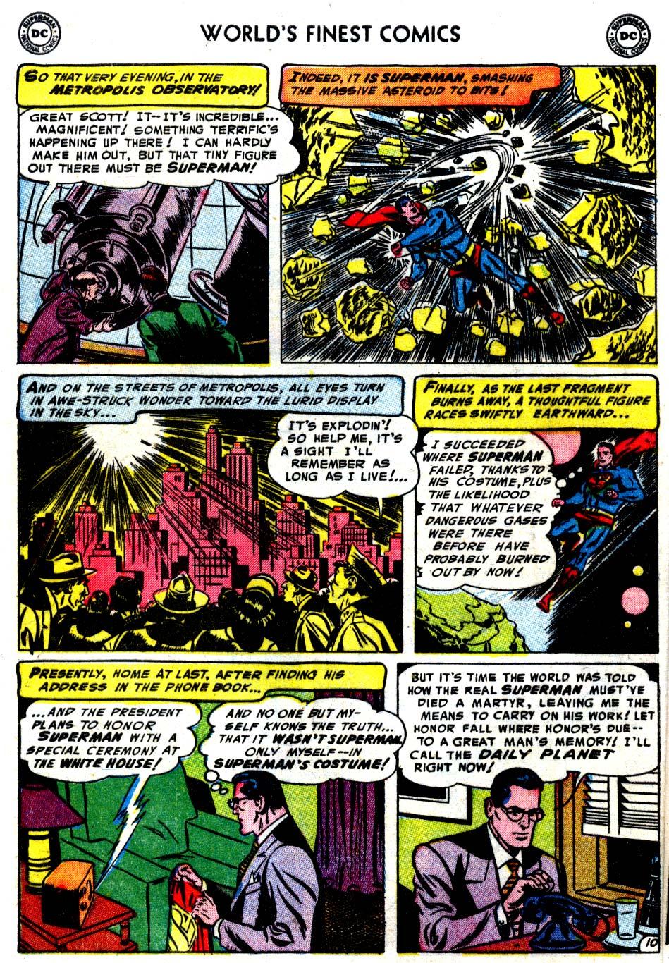 Read online World's Finest Comics comic -  Issue #68 - 12