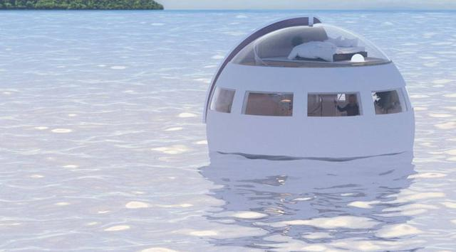 Japan Immediately Realize Hotel Floating in the Middle of the Sea