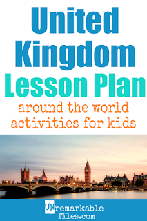 Building the perfect United Kingdom (UK) lesson plan for your students? Are you doing an around-the-world unit in your K-12 social studies classroom? Try these free and fun UK-themed activities, crafts, books, and free printables for teachers and educators! #unitedkingdom #uk #lessonplan #students
