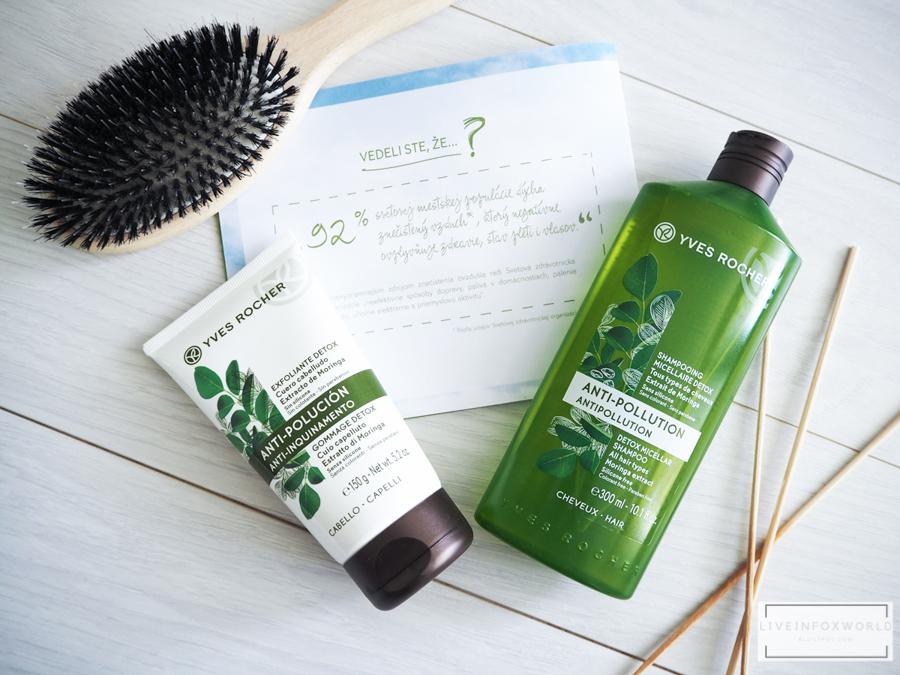 Detoxikačný vlasový peeling a Detoxikačný micelárny šampón