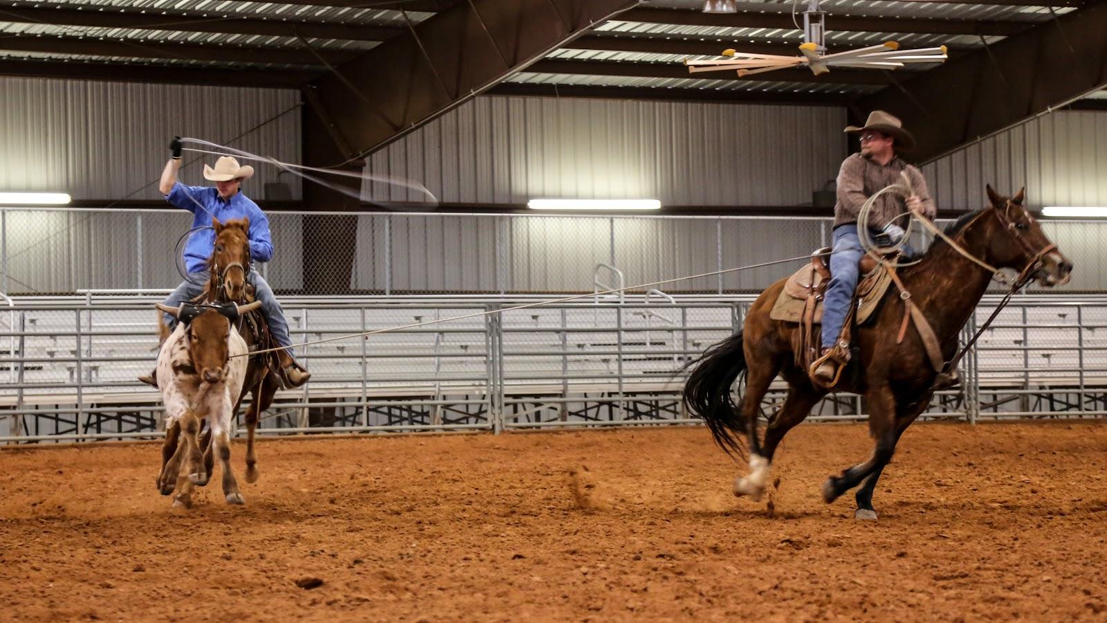 Life On The Plains Team Roping Vernon Texas December