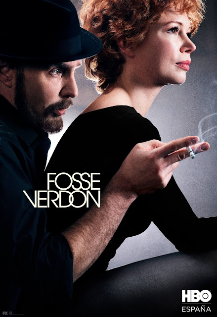 Fosse/Verdon, tráiler, HBO España, Serie, Michelle Williams, Sam Rockwell, póster