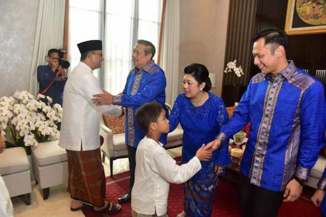 Mantap, SBY Siap Support Kepemimpinan Anies-Sandi