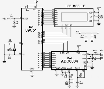 Embedded Technology : Temperature sensor interfacing with 8051