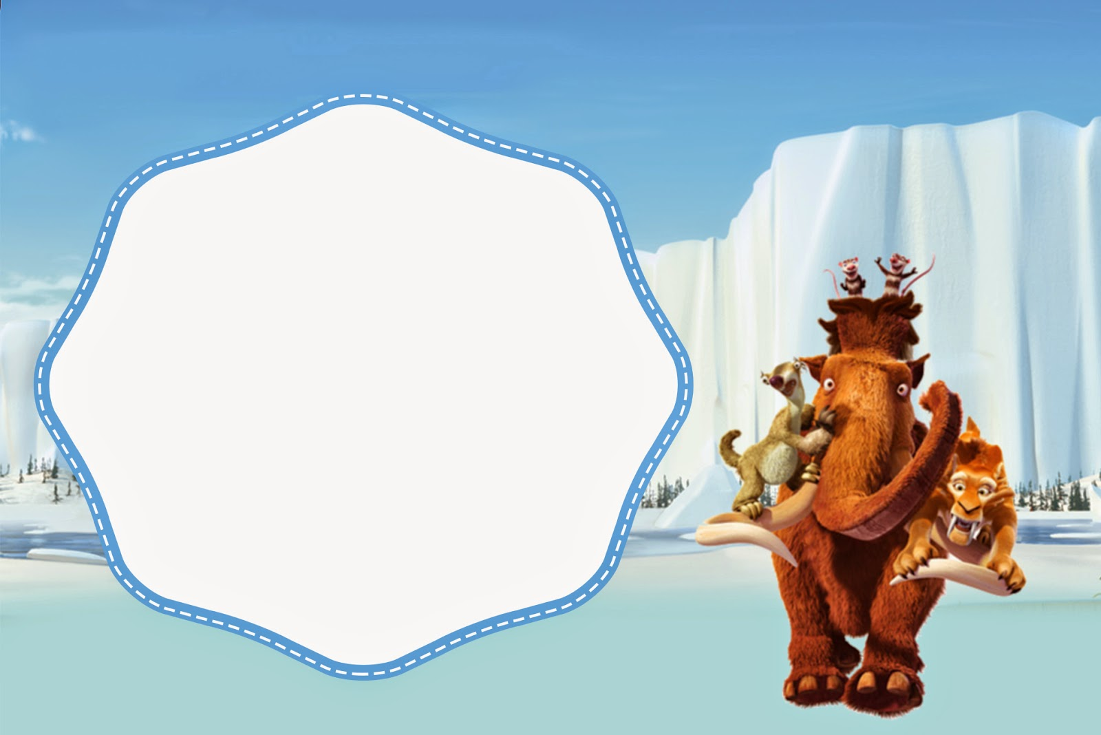 Ice Age  The Meltdown Coloring Pages