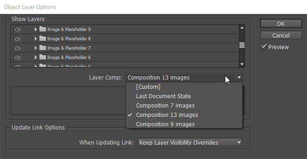How to Use Advantage of PSD and Ai Layered Files in Adobe InDesign