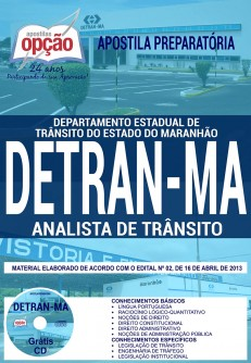 Apostila concurso DETRAN (MA) 2018 Analista de Trânsito.