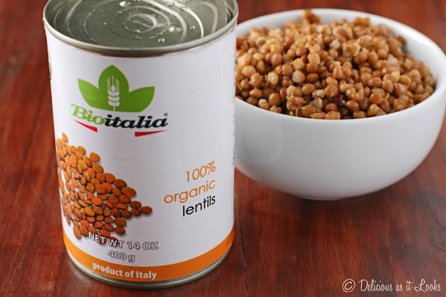 Canned Lentils are Low-FODMAP in 1/2 cup Servings