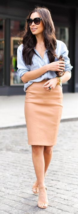 Chic Work Outift For This Summer