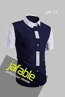 Baju Kemeja Pria Lengan Pendek
