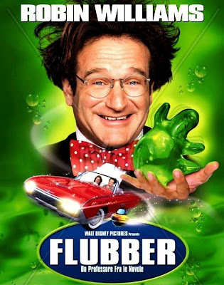 Poster Of Flubber In Dual Audio Hindi English 300MB Compressed Small Size Pc Movie Free Download Only At worldfree4u.com