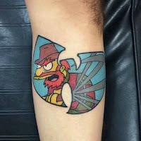 tatuaje willy los simpson