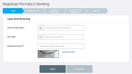 Cara Registrasi Internet Banking PermataNet