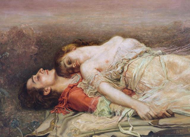 Rogelio De Egusquiza: La morte di Tristano e Isotta (dettaglio)