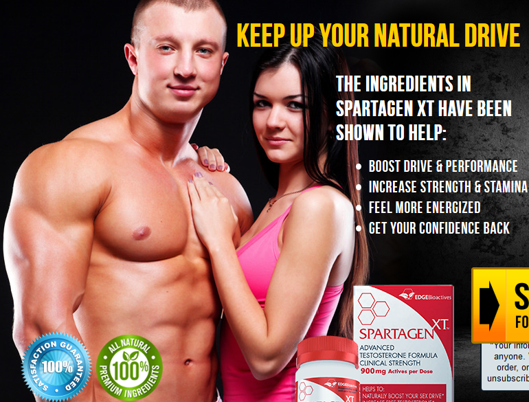 Spartagen XT get your confidence back