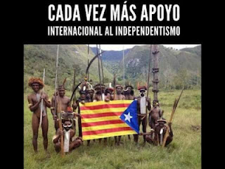 International support to Catalan independent process