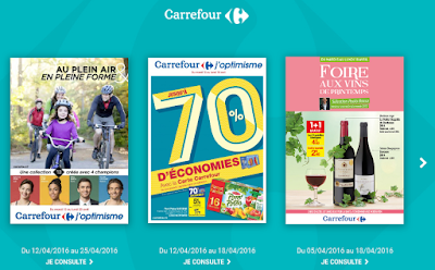 Carrefour Catalogues Avril 2016