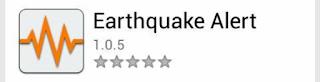 aplikasi alarm gempa bumi