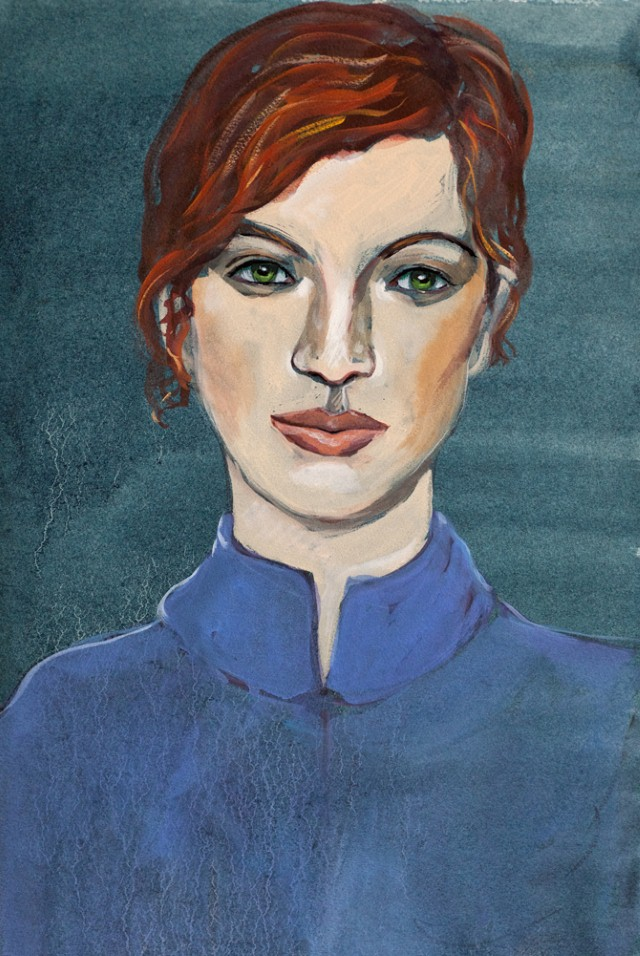 Портреты. Corinne Korda 19