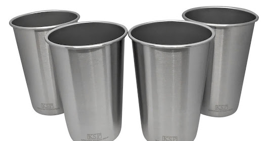 Stainless Steel Cups by Kitchen Studio Plus Review
