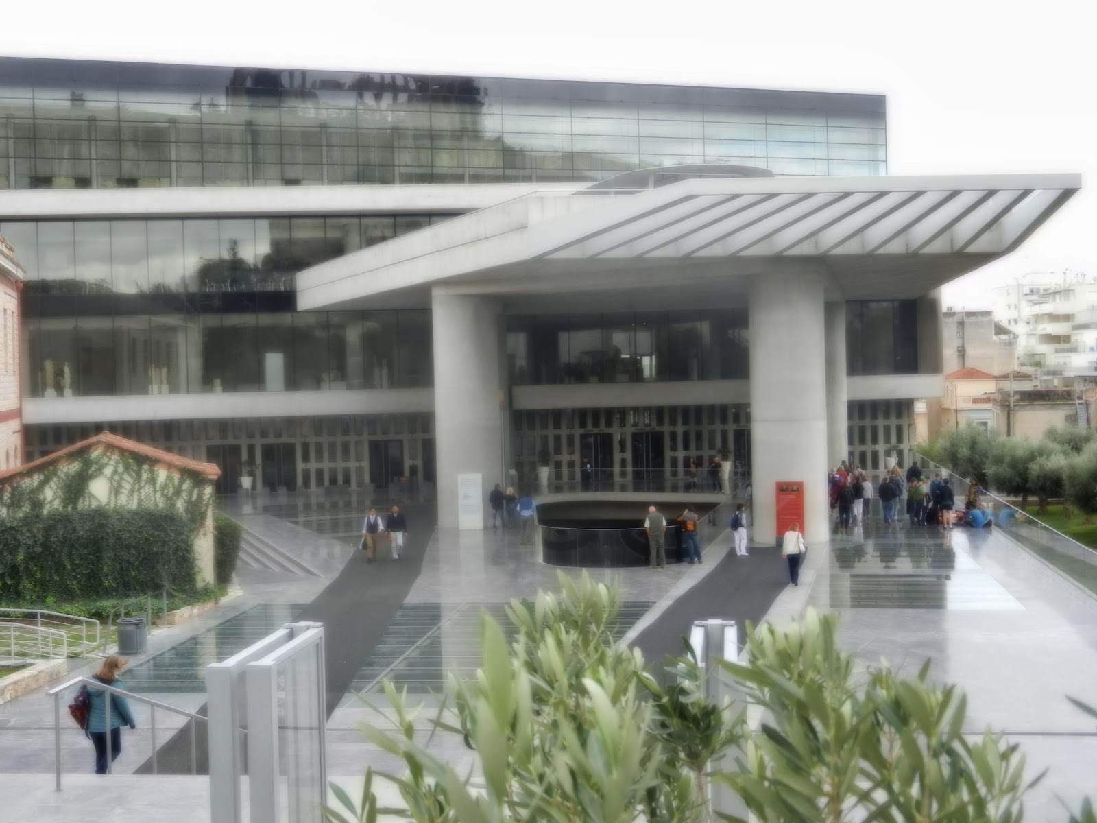 Athene: the new acropolis museum ~ almost 50 and still crazy