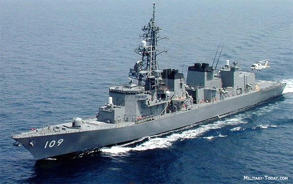 Los destructores de la clase Murasame son uno de los buques de guerra ...
