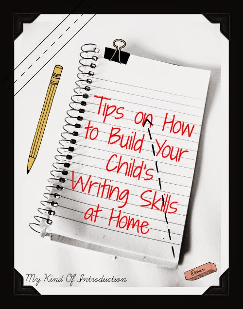 Build Writing Skills at Home