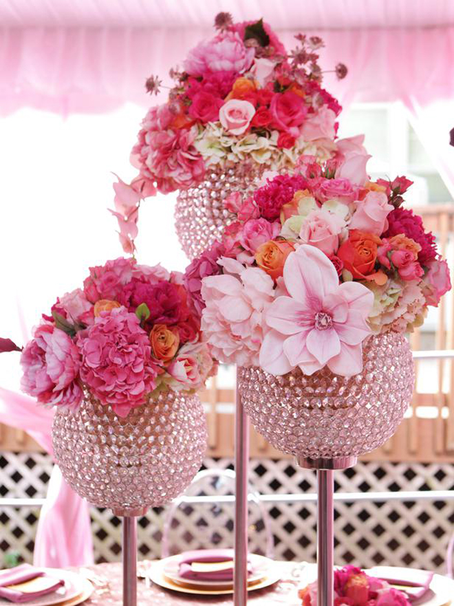 25 Stunning Wedding Centerpieces Part 13 Belle The