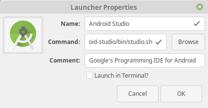 Ridzwan's Blog: How to Install Android Studio on Linux Mint 19