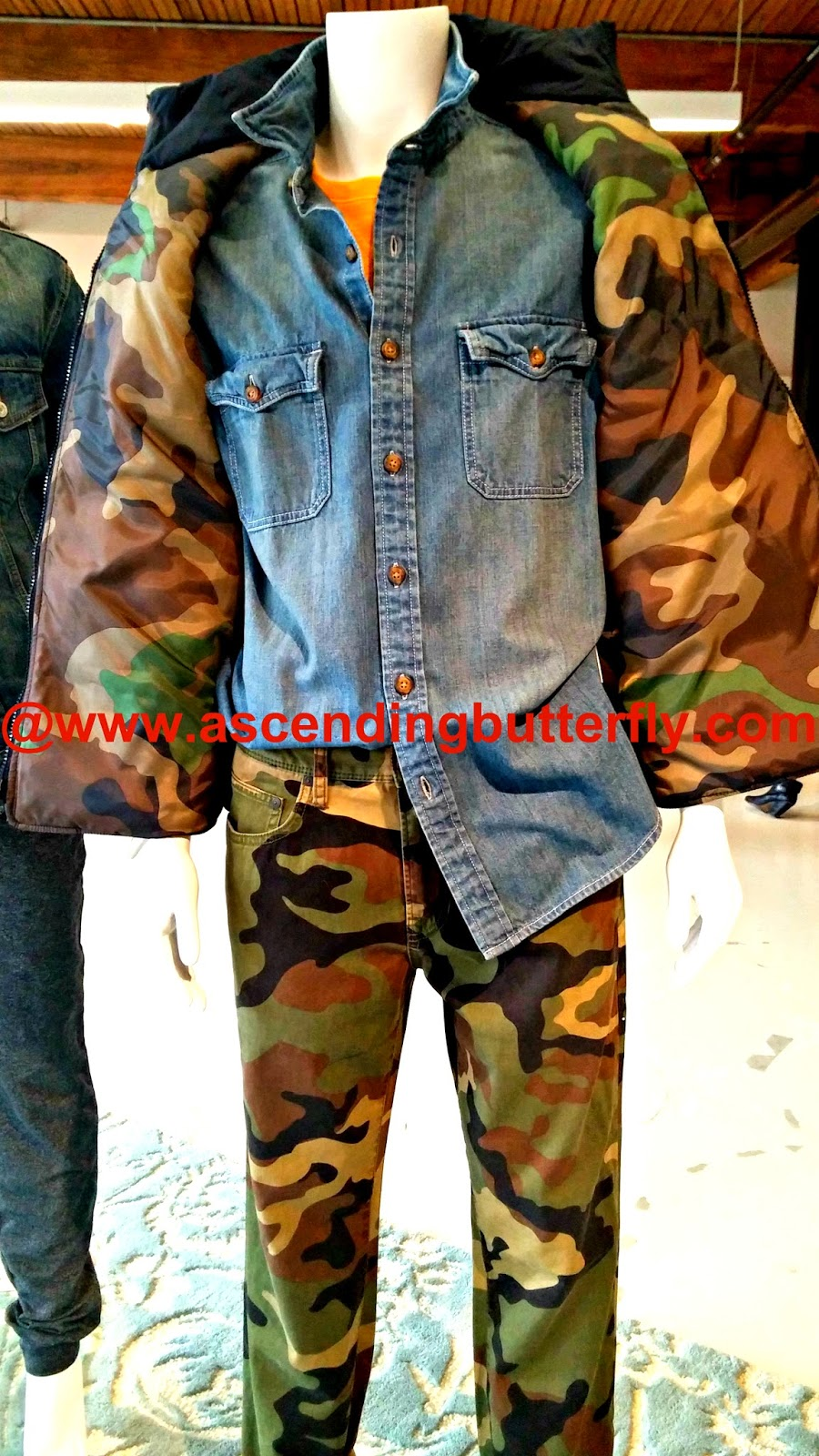 Boys Back to School Fashion on display at JCPenney 2014 Press Preview, Camo for Boys