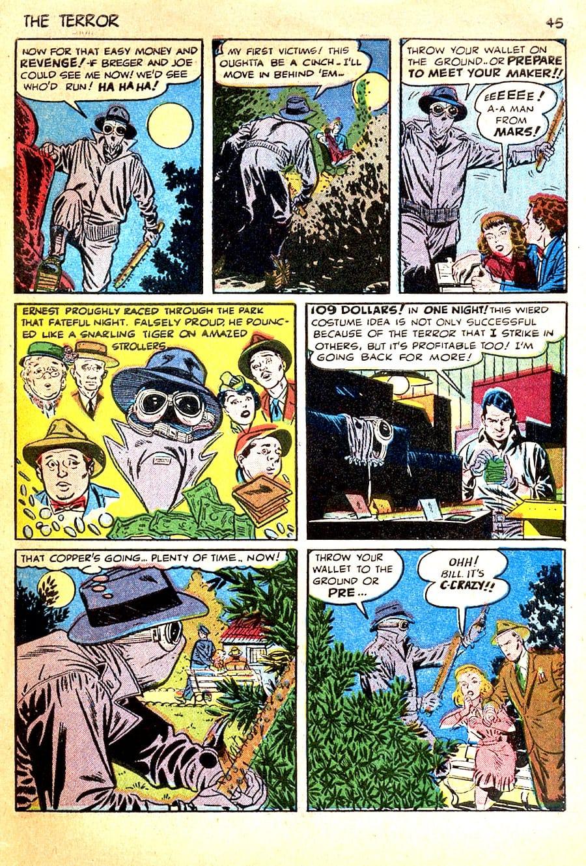 True Crime Comics #1 golden age 1940s comic book page by Alex Toth