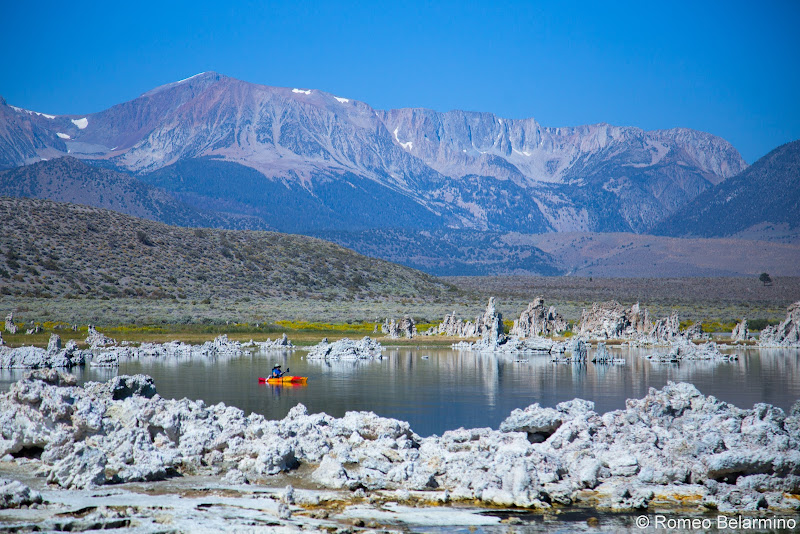 Kayaking Mono Lake Tufa Towers Things to Do in Mammoth in Summer