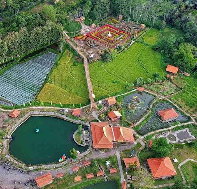 Foto Wisata Kampung Flory Sleman Jogja