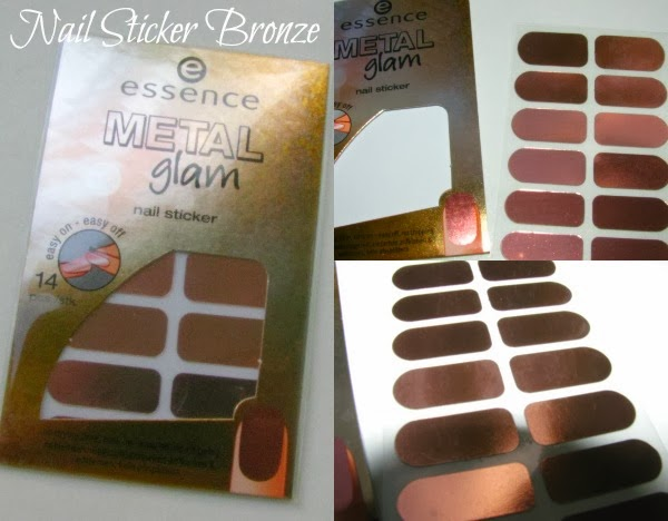 essence Metal Glam Nail Sticker - Reviews, Fotos, Swatches