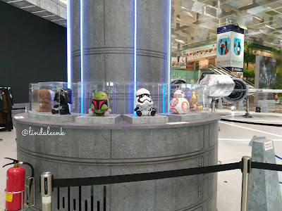 Starwars at Changi Airport SIngapore