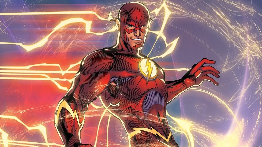 Flash, DC, Comics, 4K, #4.2966