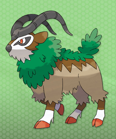 Pallet Town Post: The Wildlife of the Kalos Region (X and ...  Gogoat