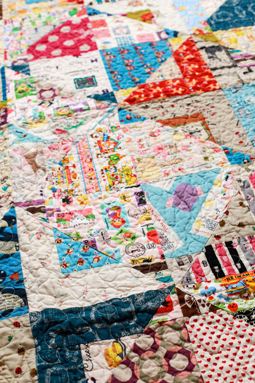 Kawaii Magic Stars Quilt | InColorOrder.com