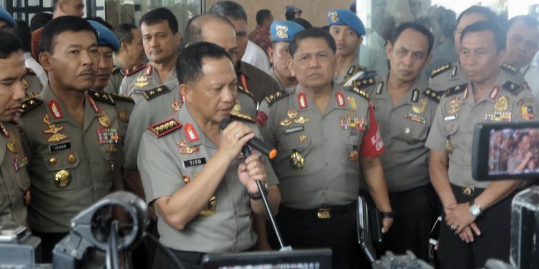 Kapolri Sudah Terima Informasi Unjuk Rasa Lanjutan pada 25 November