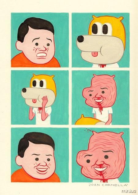 80 dos quadrinhos mais doentios e bizarros de Joan Cornellà